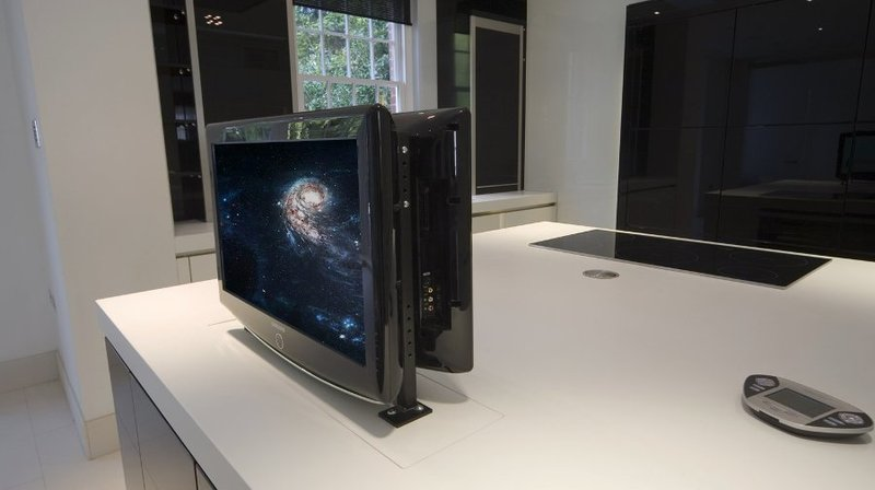 Tv moving ml sollevatore tv motorizzato da incasso - Mobile tv a scomparsa ...