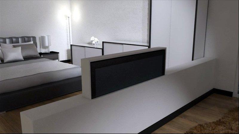 Tv moving mlube sollevatore tv motorizzato da incasso - Porta tv da soffitto ...