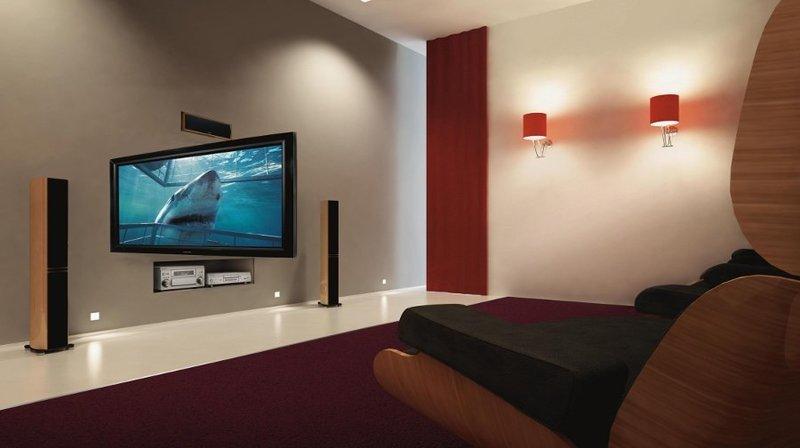 Tv moving hse90 braccio tv motorizzato da parete per tv - Braccio porta tv ...