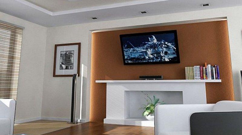 Altezza tv a parete camera da letto top alfa luarmadio - Altezza mobile tv ...