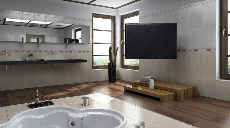 Porta Tv Girevole 180 Gradi Elegant Mfl Staffa Tv