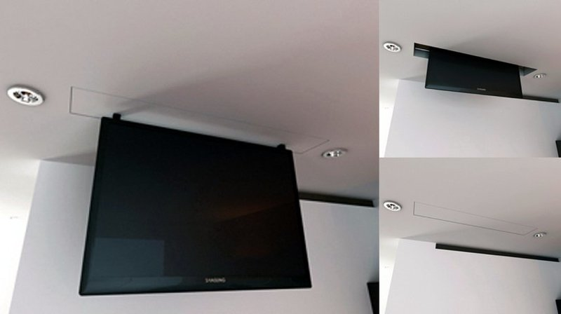Tv moving mli sollevatore tv motorizzato da soffitto per tv