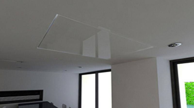 Tv moving chrt sollevatore tv motorizzato da soffitto per tv a scomparsa dal soffitto - Porta tv da soffitto ...