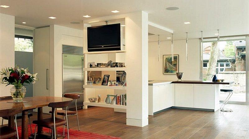 TV MOVING MS - Supporto tv motorizzato da soffitto per tv appeso al soffitto