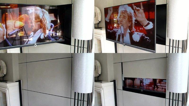 MLSP - Meccanismi tv motorizzati speciali per televisori a scomparsa nel mobile, dentro la parete o dietro quadri e specchi