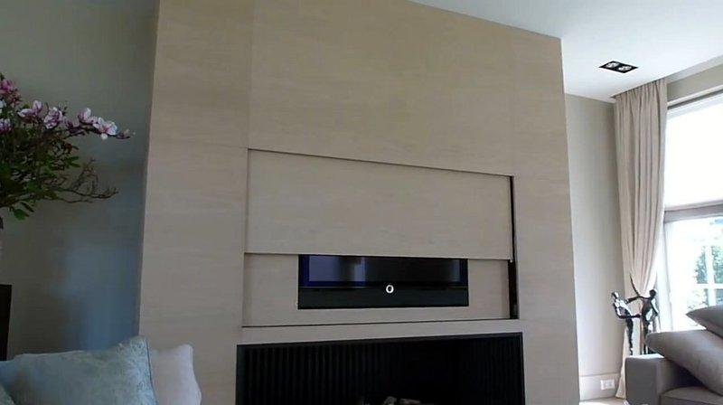 Parete Mobile A Scomparsa.Tv Moving Sps Meccanismo Tv Motorizzato Speciale Per Tv A