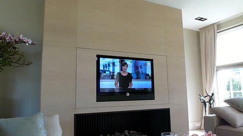 Tv moving sps meccanismo tv motorizzato speciale per tv for Pareti a scomparsa