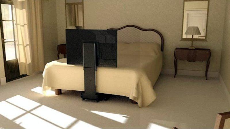 Tv moving ubl meccanismo tv motorizzato speciale per tv a scomparsa sotto il letto - Letto a scomparsa soffitto ...